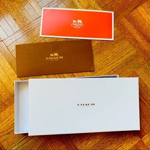 Coach Gift Box & Envelop Set